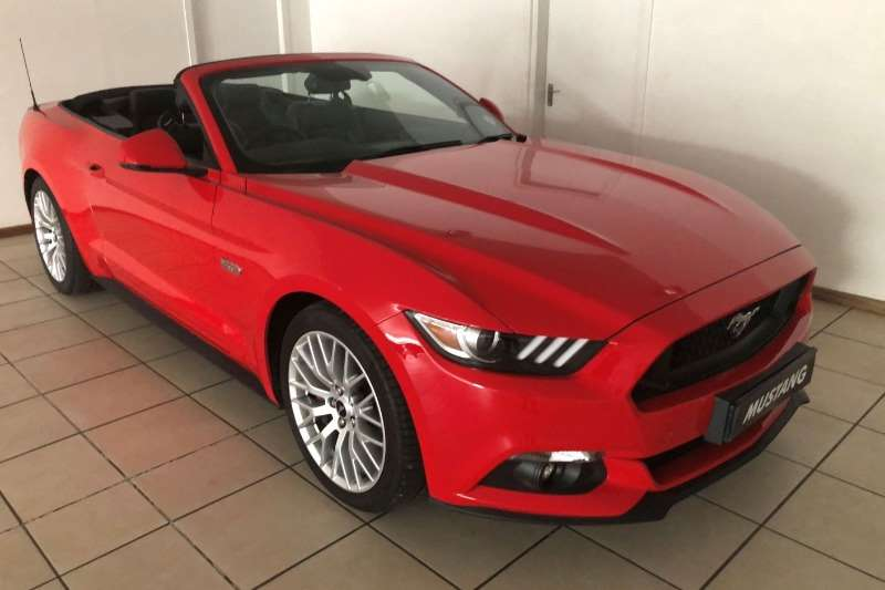 Ford Mustang 5.0 GT convertible auto 2019