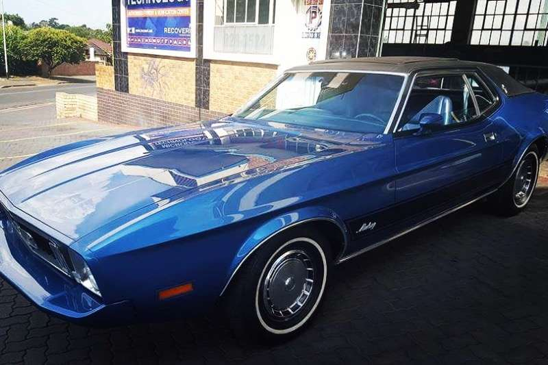 Ford Mustang 5.0 V8 Grand Coupe 1972