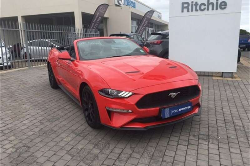 2019 Ford Mustang convertible MUSTANG 2.3 CONVERT A/T