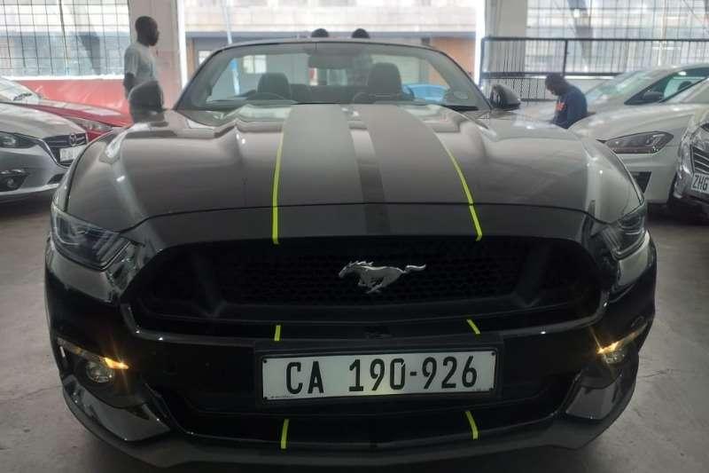 2017 Ford Mustang convertible MUSTANG 5.0 GT CONVERT A/T