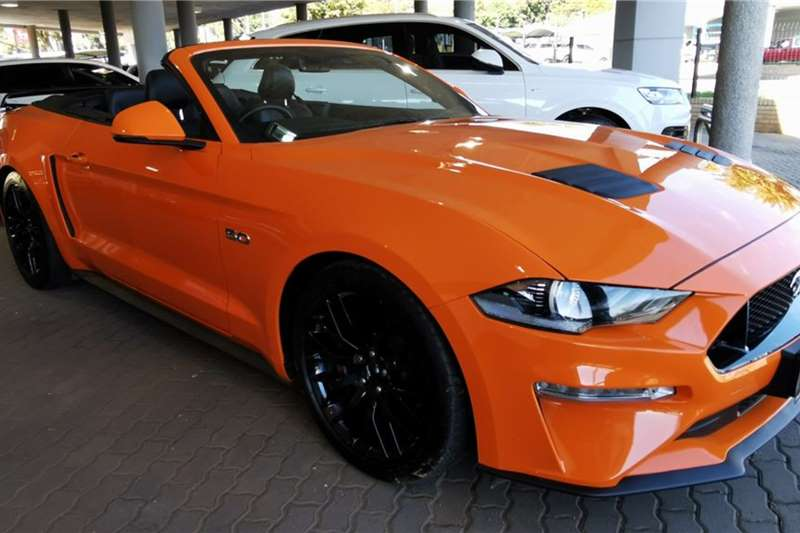 Used 2020 Ford Mustang Convertible MUSTANG 5.0 GT CONVERT A/T