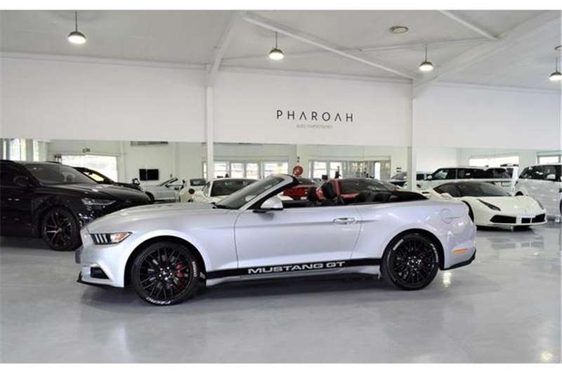 2018 Ford Mustang 2.3T convertible auto