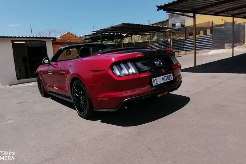 2016 Ford Mustang 2.3T convertible auto