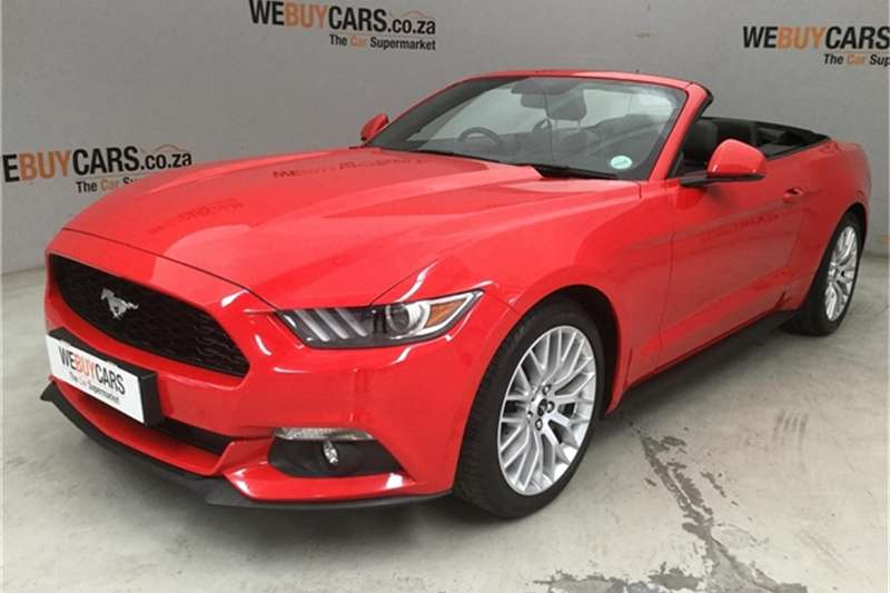 2017 Ford Mustang 2.3T convertible auto