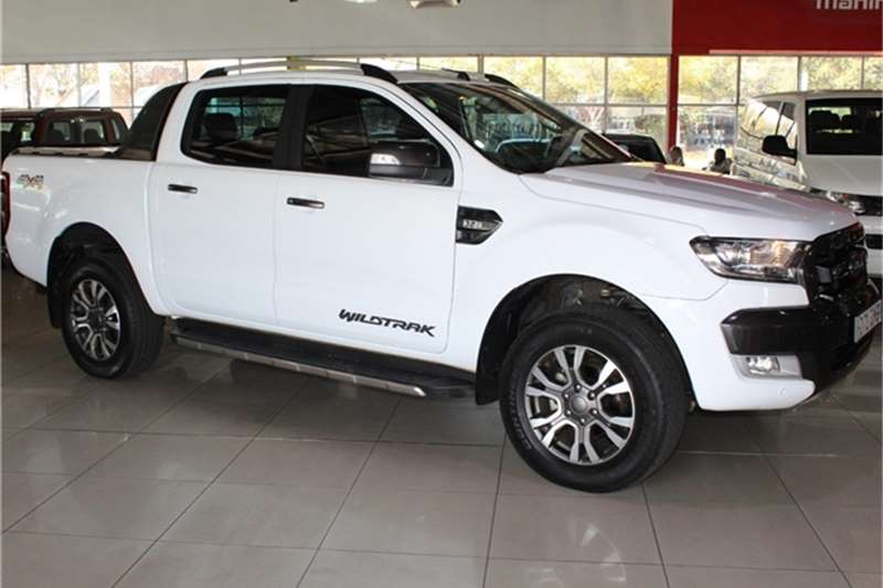 Ford Ranger 3.2 double cab 4x4 Wildtrak auto 2017
