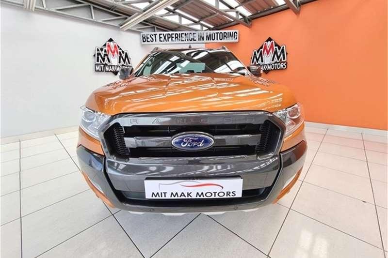 Used 2017 Ford Ranger 3.2 double cab 4x4 Wildtrak auto