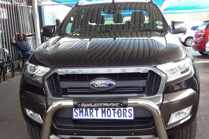 Ford Ranger 3.2 double cab 4x4 Wildtrak auto 2018