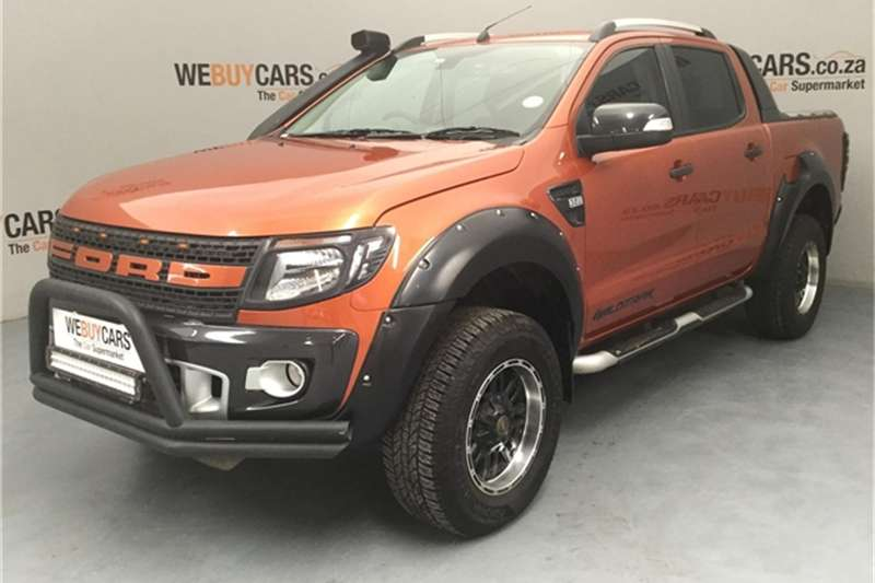 Ford Ranger 3.2 double cab Hi Rider Wildtrak auto 2014