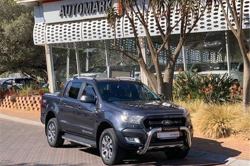 Ford Ranger 3.2TDCi Double Cab 4x4 Wildtrak Auto 2017