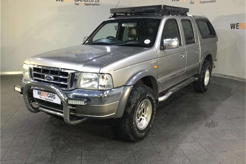 Ford Ranger 4000 V6 double cab 4x4 XLE automatic 2005