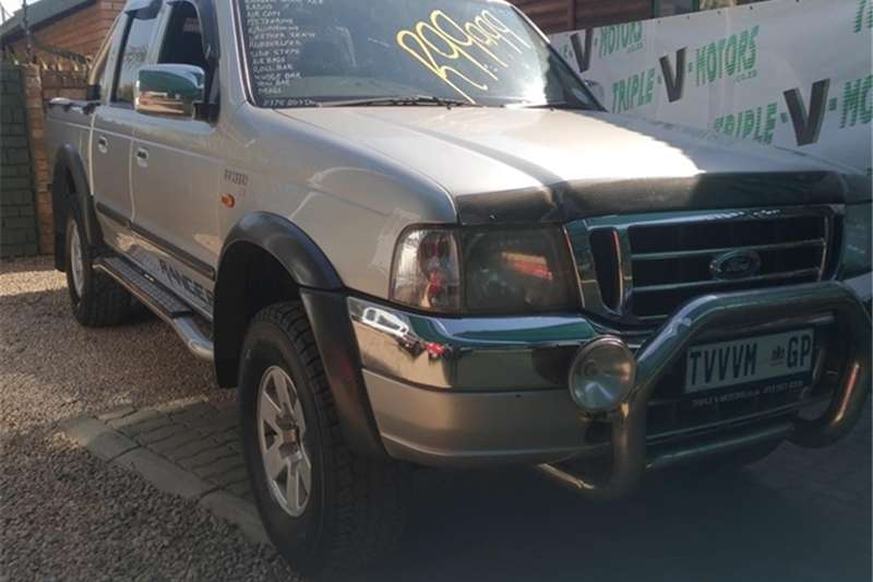 Ford Ranger 4000 V6 double cab XLE 2004