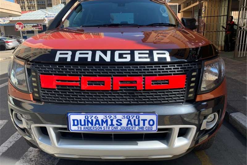 Ford Ranger Double Cab 2.2 wild track 2014