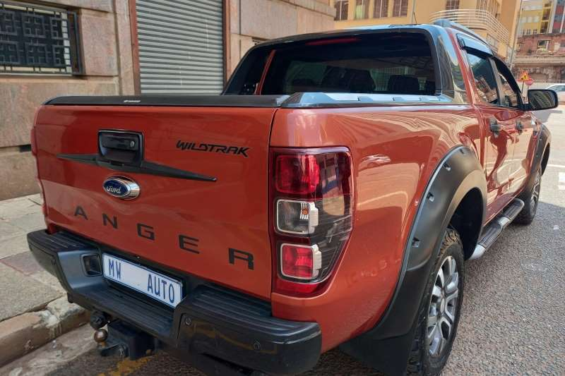 Ford Ranger Double Cab 3.2 diesel auto wild track 2013