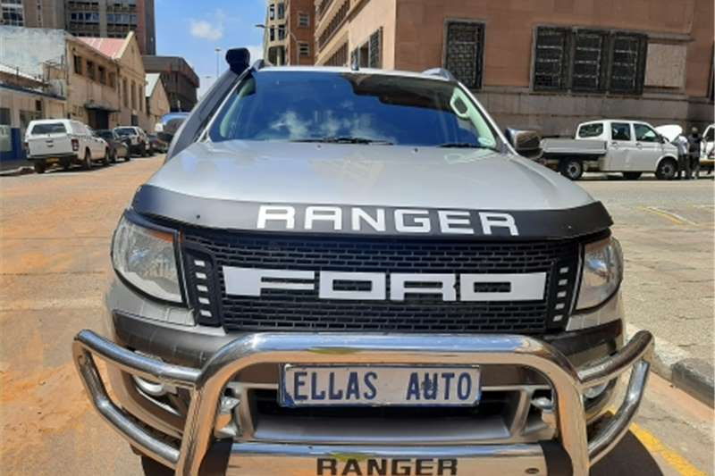 Ford Ranger Double Cab Ford Ranger 3.2 6 Speed 4x4 2012