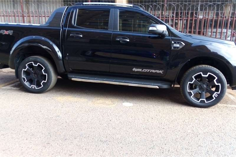 Used 2018 Ford Ranger Double Cab RANGER 3.2TDCi WILDTRAK A/T P/U D/C