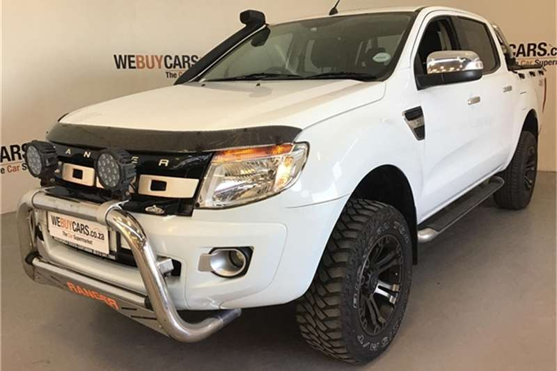 2012 Ford Ranger 3.2 double cab 4x4 XLT