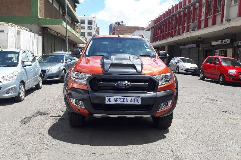 2013 Ford Ranger 3.2 double cab 4x4 Wildtrak auto