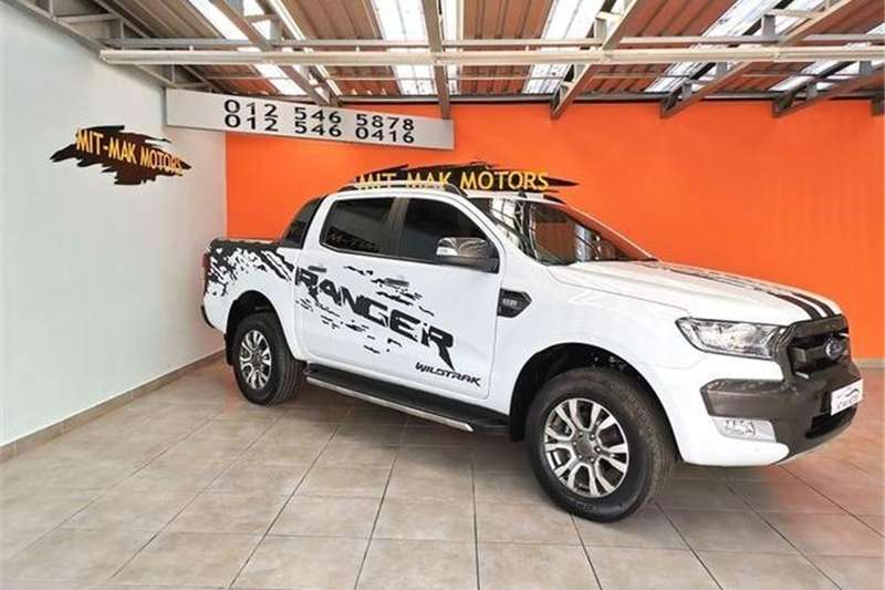 2018 Ford Ranger 3.2 double cab Hi Rider Wildtrak auto