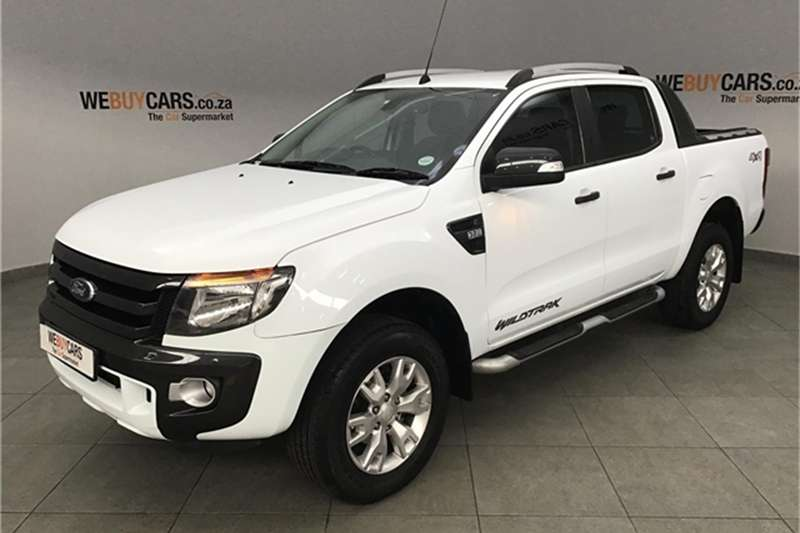 2015 Ford Ranger 3.2 double cab 4x4 Wildtrak auto