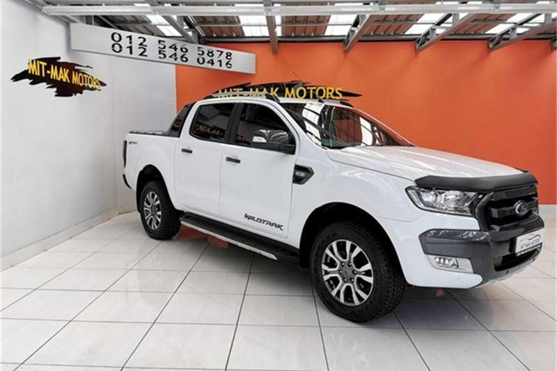 2016 Ford Ranger 3.2 double cab Hi Rider Wildtrak auto