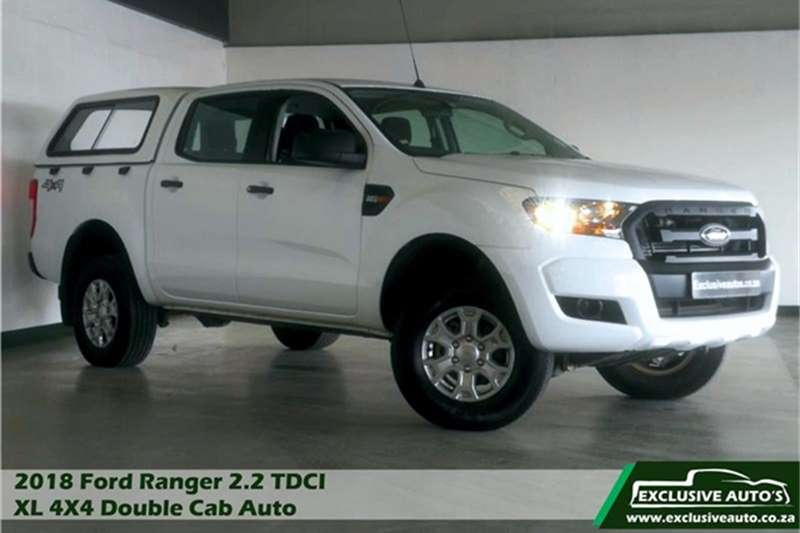 2018 Ford Ranger 2.2 double cab Hi Rider XL auto