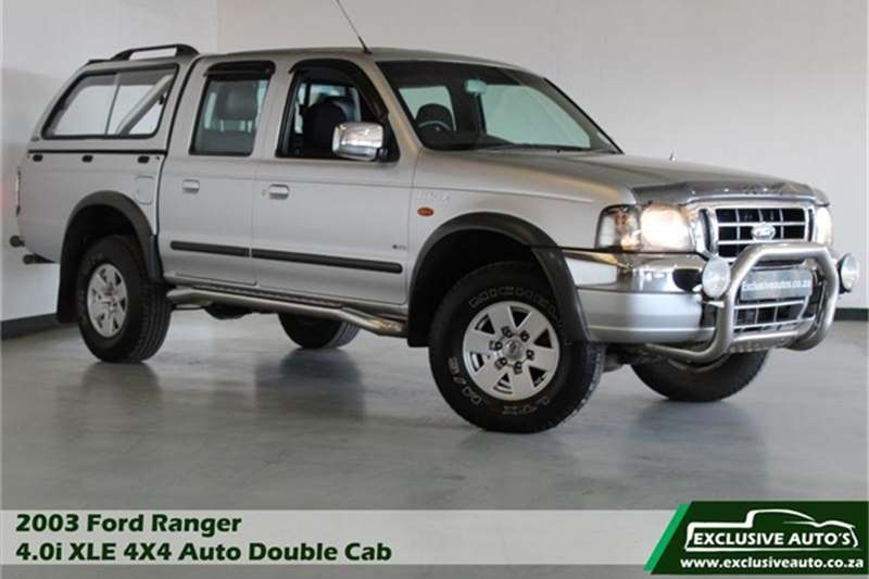 2003 Ford Ranger 4000 V6 double cab 4x4 XLE automatic