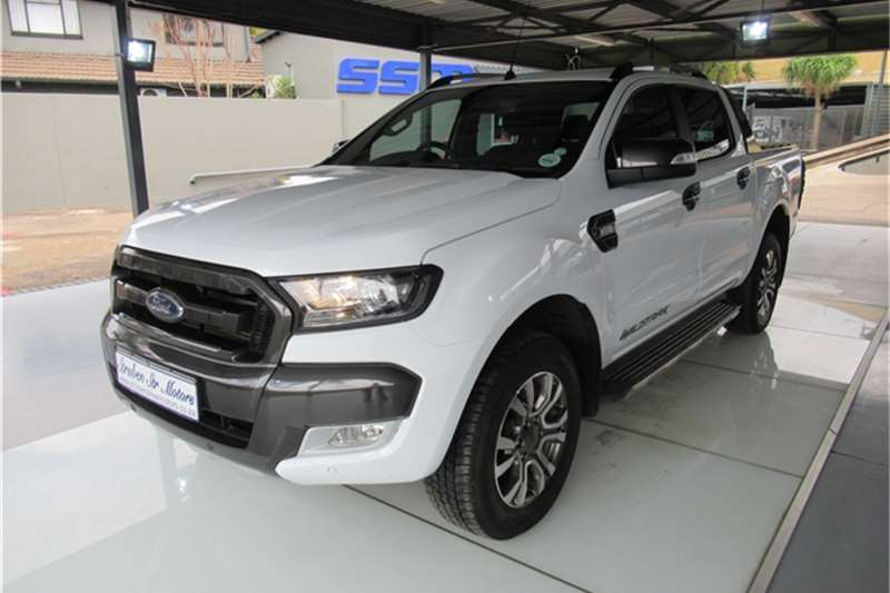 2017 Ford Ranger 3.2 double cab 4x4 Wildtrak auto