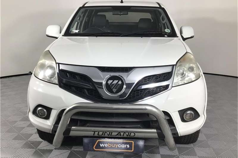 Foton Tunland 2.8 double cab off road Luxury 2016