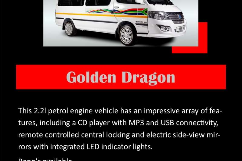 Used 0 Golden Dragon Ikhumbi