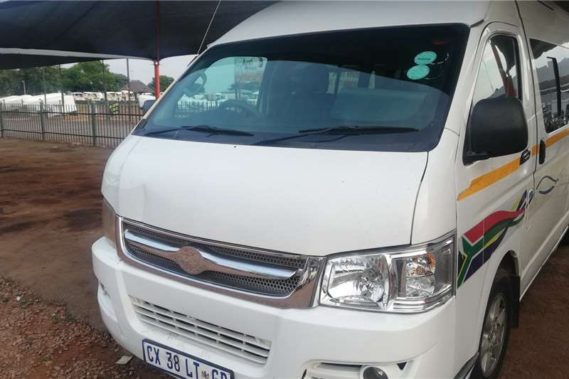 Golden Journey Ibhubezi Makoya 16 Seater Bus 2014