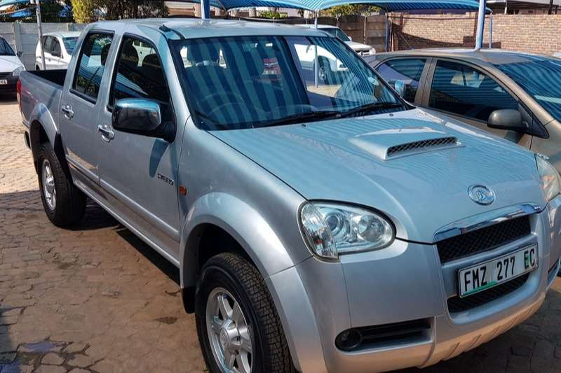 GWM Steed 2.8TC double cab Lux 2011