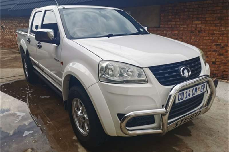 GWM Steed 5 2.0VGT double cab Lux 2012