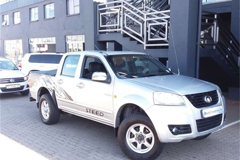 GWM Steed 5 2.4L double cab 4x4 Lux 2013