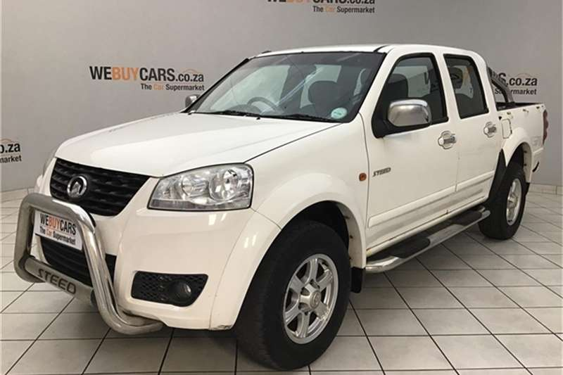 GWM Steed 5 2.5TCi double cab 4x4 Lux 2014