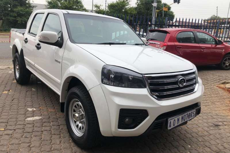 GWM Steed 5 Double Cab STEED 5 2.0 VGT SX 4X4 P/U D/C 2018