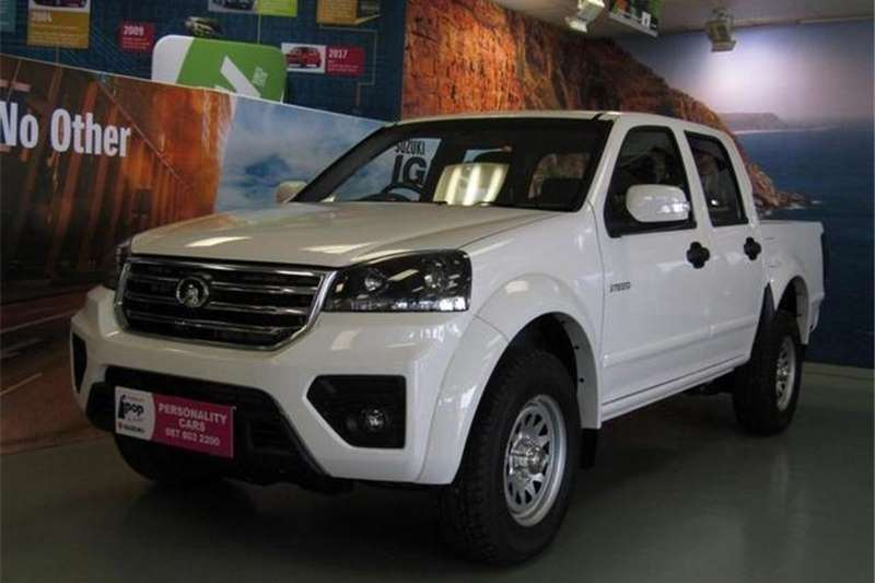 GWM Steed 5 Double Cab STEED 5 2.0 VGT SX P/U D/C 2019