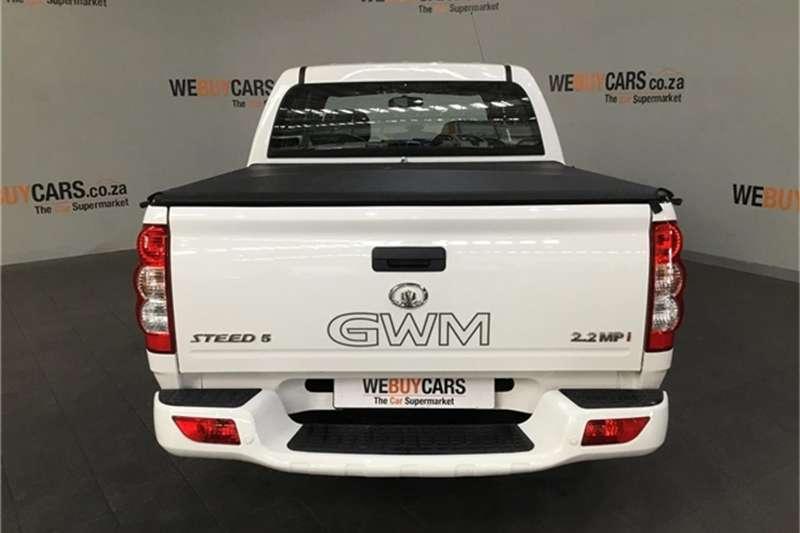 GWM Steed 5 double cab STEED 5 2.2 MPi BASE P/U D/C 2018