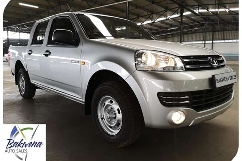 GWM Steed 5 Double Cab STEED 5 2.2 MPi BASE P/U D/C 2019