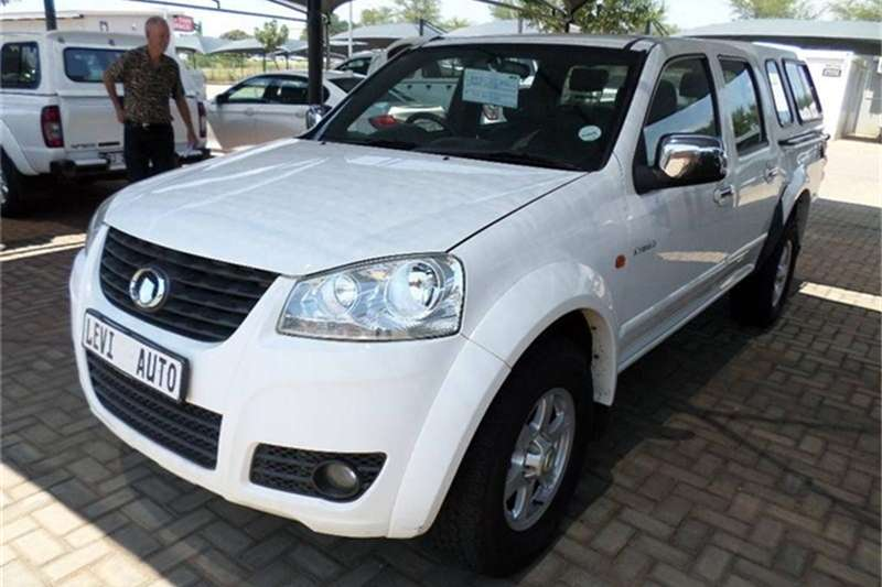 2012 GWM Steed 5 2.0VGT double cab Lux