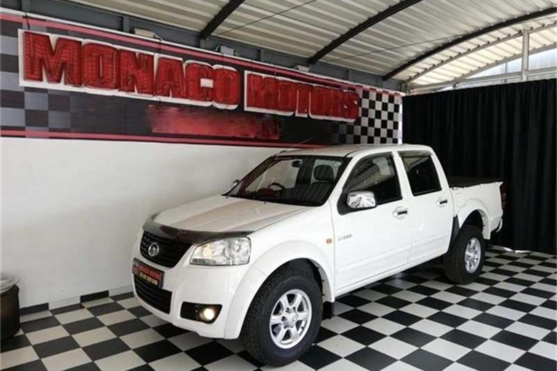 2012 GWM Steed 5 2.4L double cab Lux
