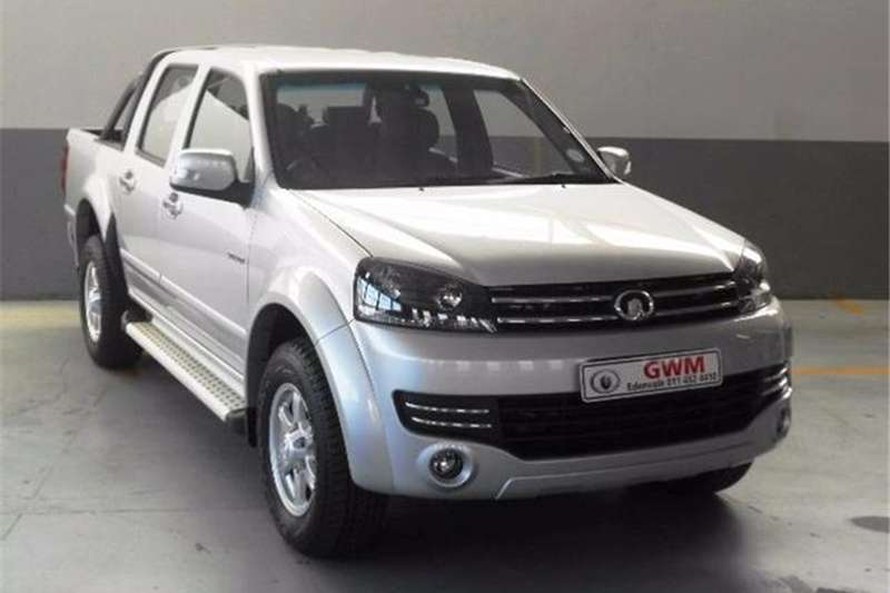 GWM Steed 5E 2.4 double cab Xscape 2019