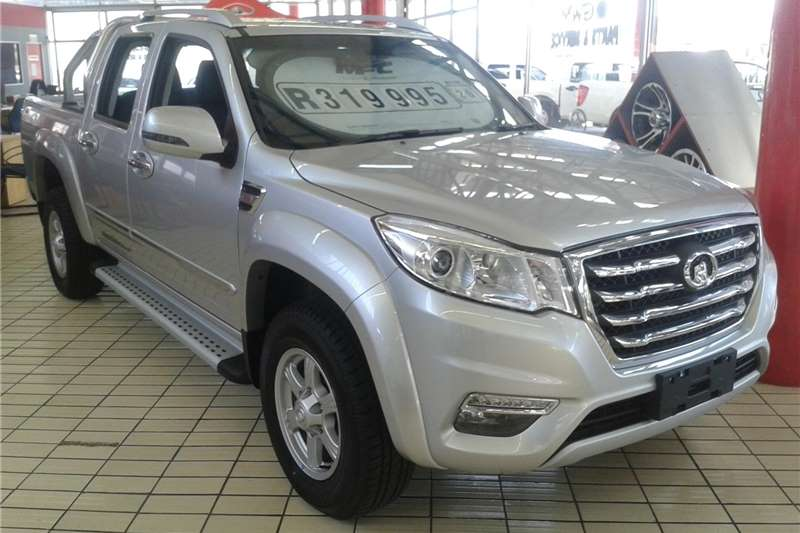 GWM Steed 6 Double Cab STEED 6 2.0 VGT XSCAPE P/U D/C 2020