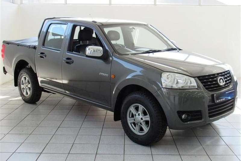 2012 GWM Steed 2.2MPi double cab Lux