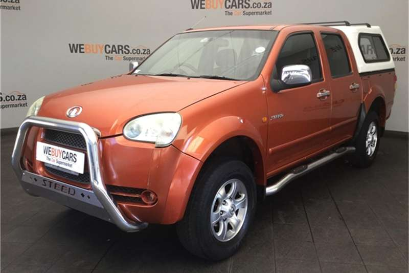 2009 GWM Steed 2.8TCi double cab Lux