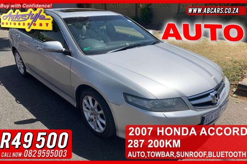 Honda Accord 2.0 Executive automatic 2007