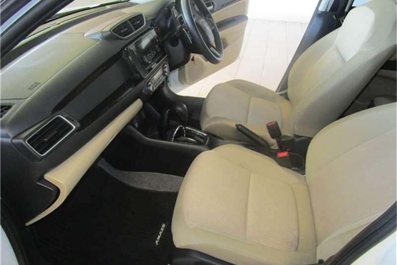 Honda Amaze sedan AMAZE 1.2 COMFORT CVT 2020