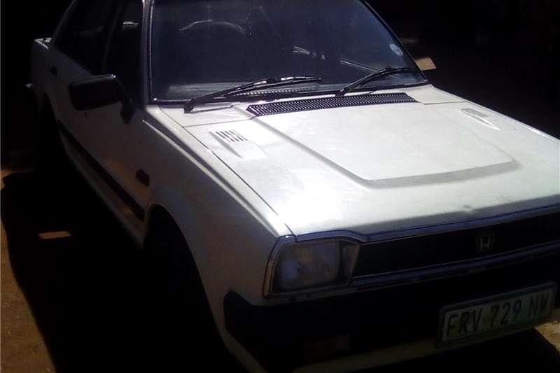 Honda Ballade 1.5 Comfort 1984