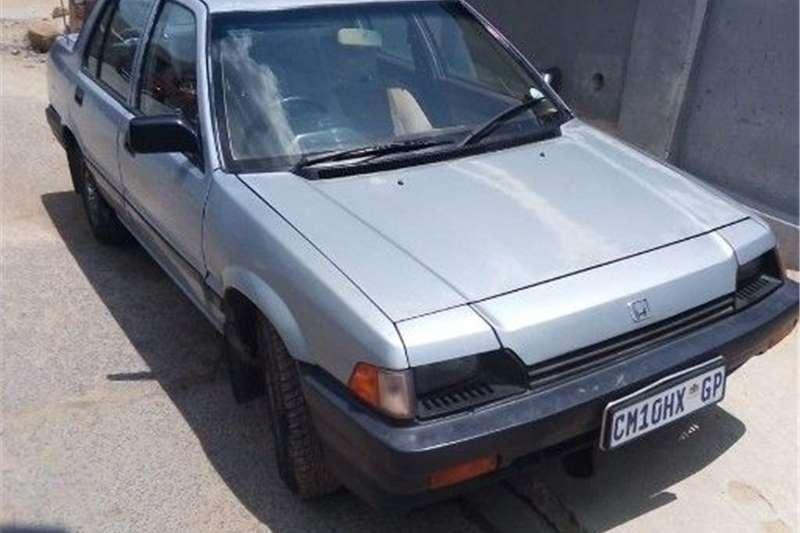 Honda Ballade 1.5 Comfort auto 1986