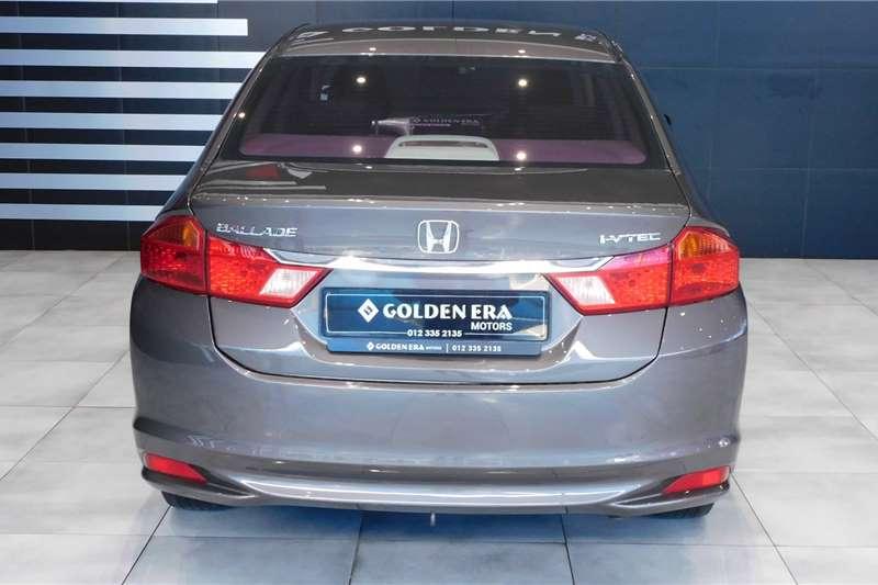 Honda Ballade 1.5 Trend 2014
