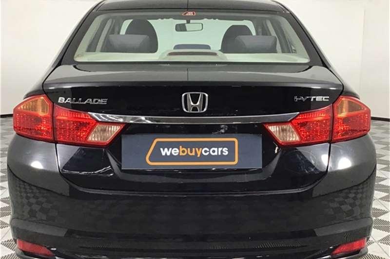 2015 Honda Ballade Ballade 1.5 Trend